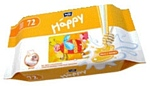 Bella Baby Happy Milk & Honey, 72 PCs