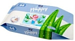 Bella Baby Happy Sensitive Aloe Vera, 64 PCs